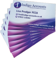 contact Lisa Prodger at Indigo Accounts